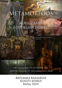 Metamorphosis Poster Estonian - small