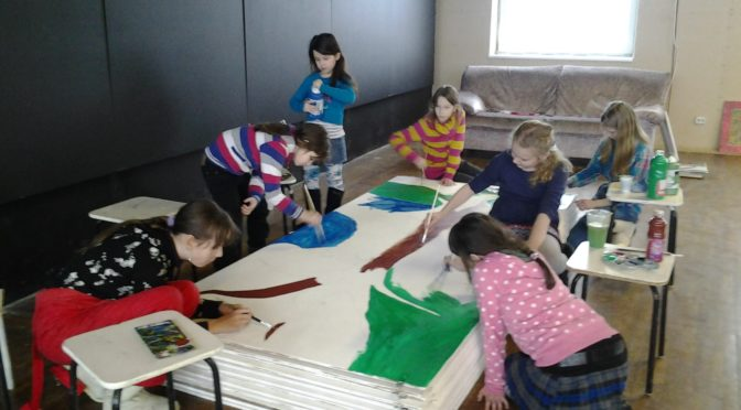 Big Paintings – a course for children